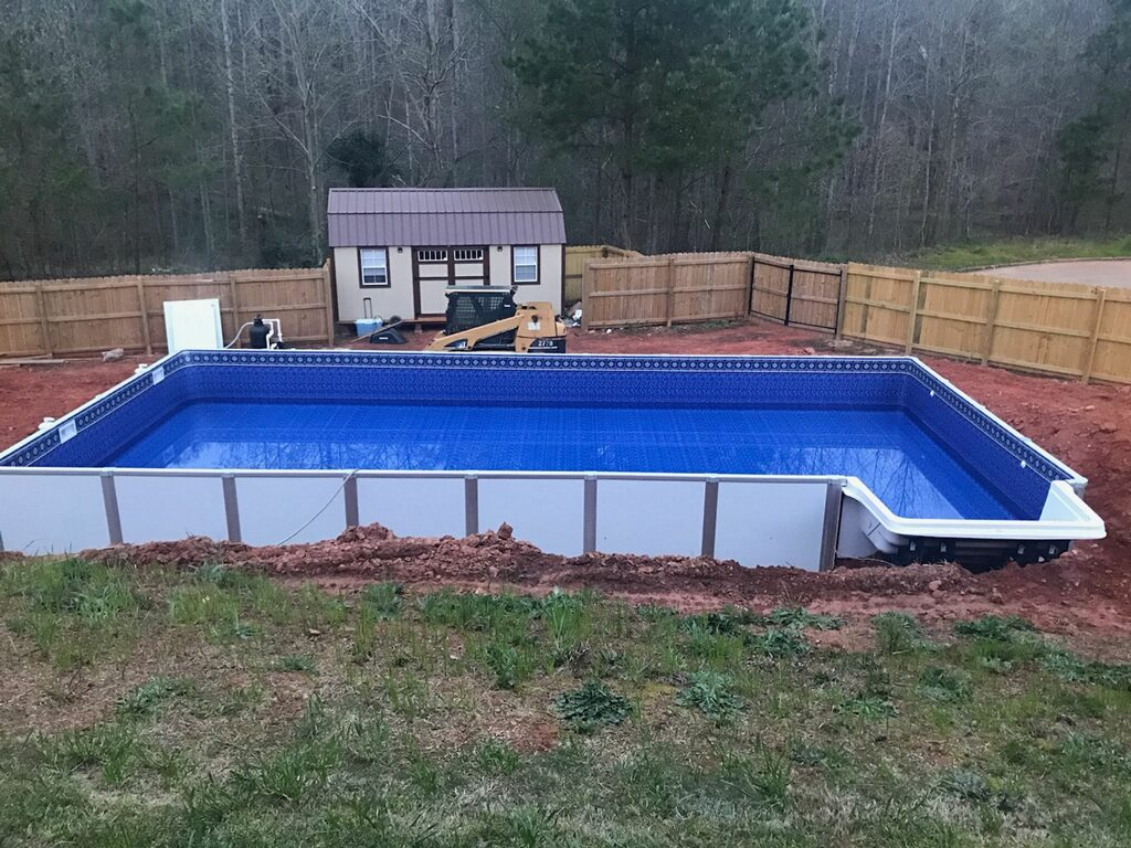 Pool With R 2019 Hercules On Ground Or Inground Aluminum Pool Swimming Pool