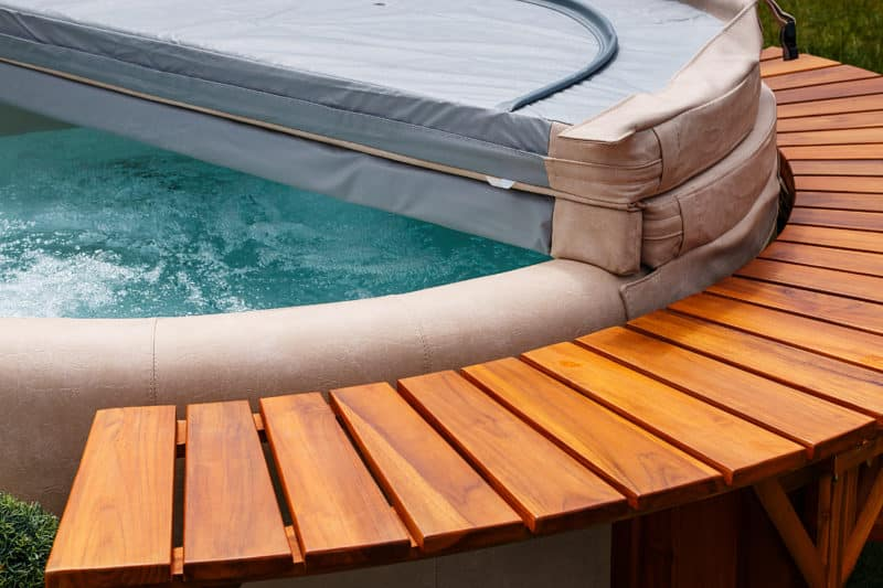 Pool Abdeckplane Oval Winter How To Buy And Care For A Hot Tub Cover