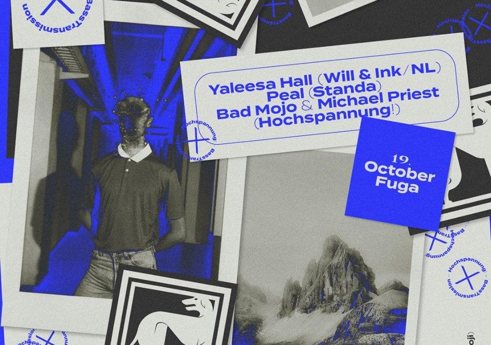 Bratislavská crew Hochspannung! sa vracia do klubov – privedie producenta Yaleesa Hall (NL)