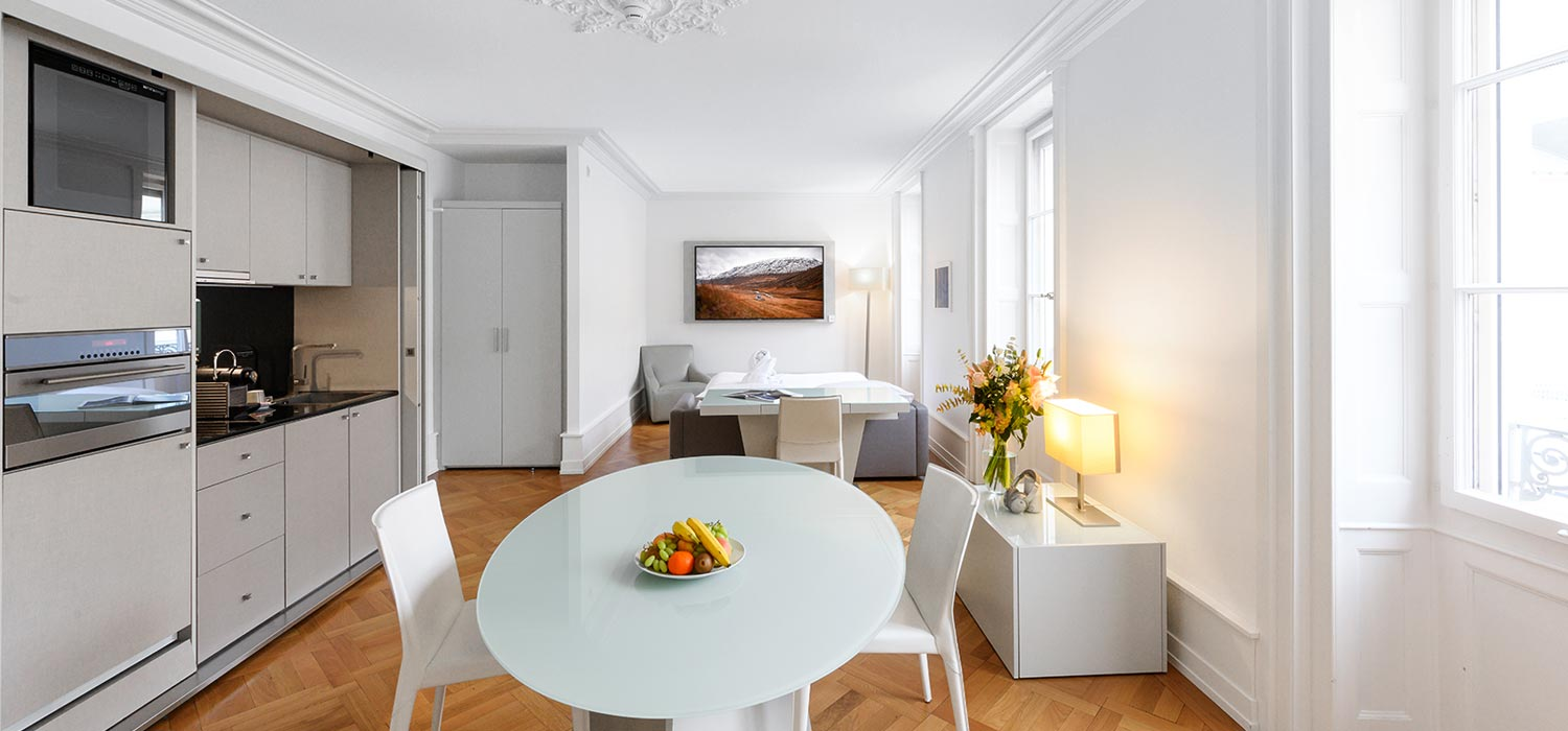 Apartment Einrichtung Serviced Apartments Hotel In Geneva Switzerland A Place To Live
