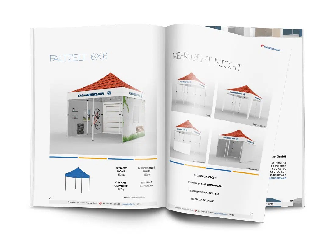 Faltpavillon 4x4m Zelt Katalog Archive Swiss Display Gmbh