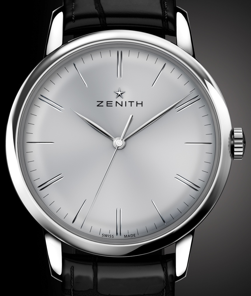 Movement Replica Swiss Watch Then New In House Movement Inside Zenith Elite 6150 Replica Watch