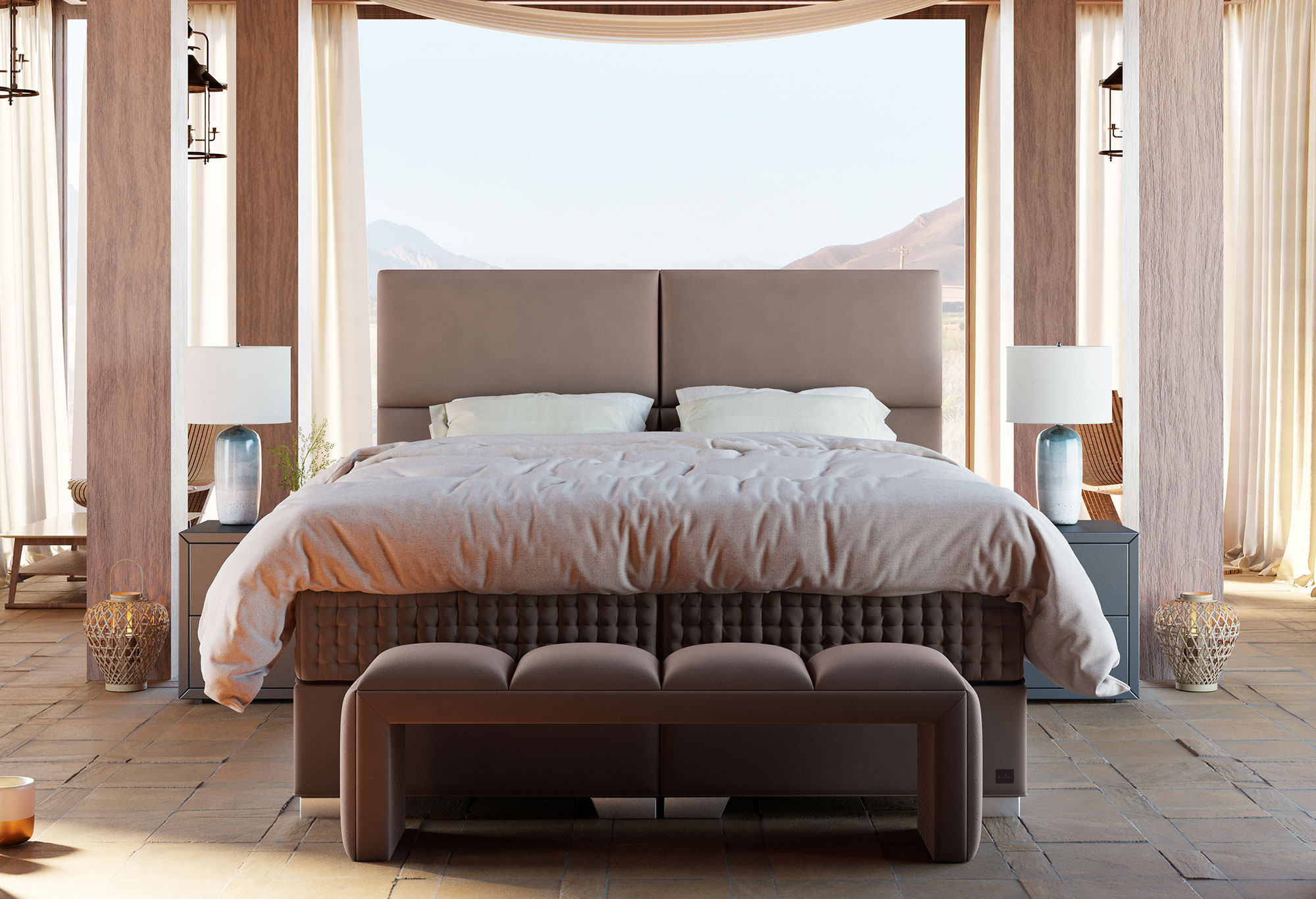 Boxspringbett Royal Serengeti Swiss Sense