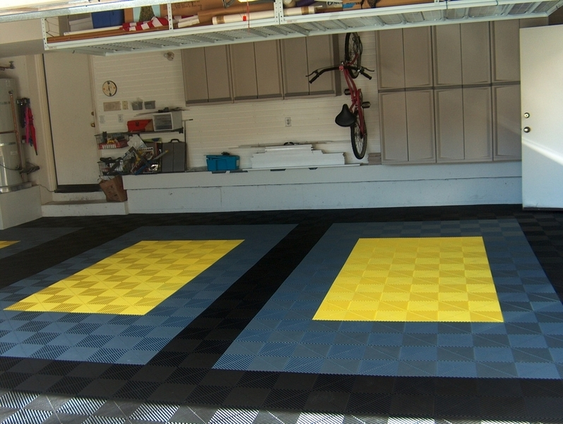 Bodenfliesen Verlegemuster Stylish Modular Floors Tiles And Garage Flooring