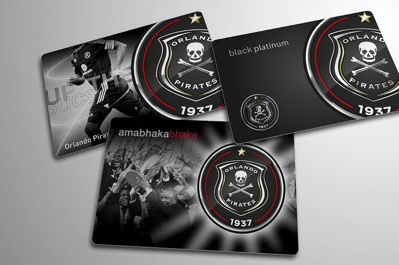 Orlando Pirates \u2013 switch brands with purpose - club card design