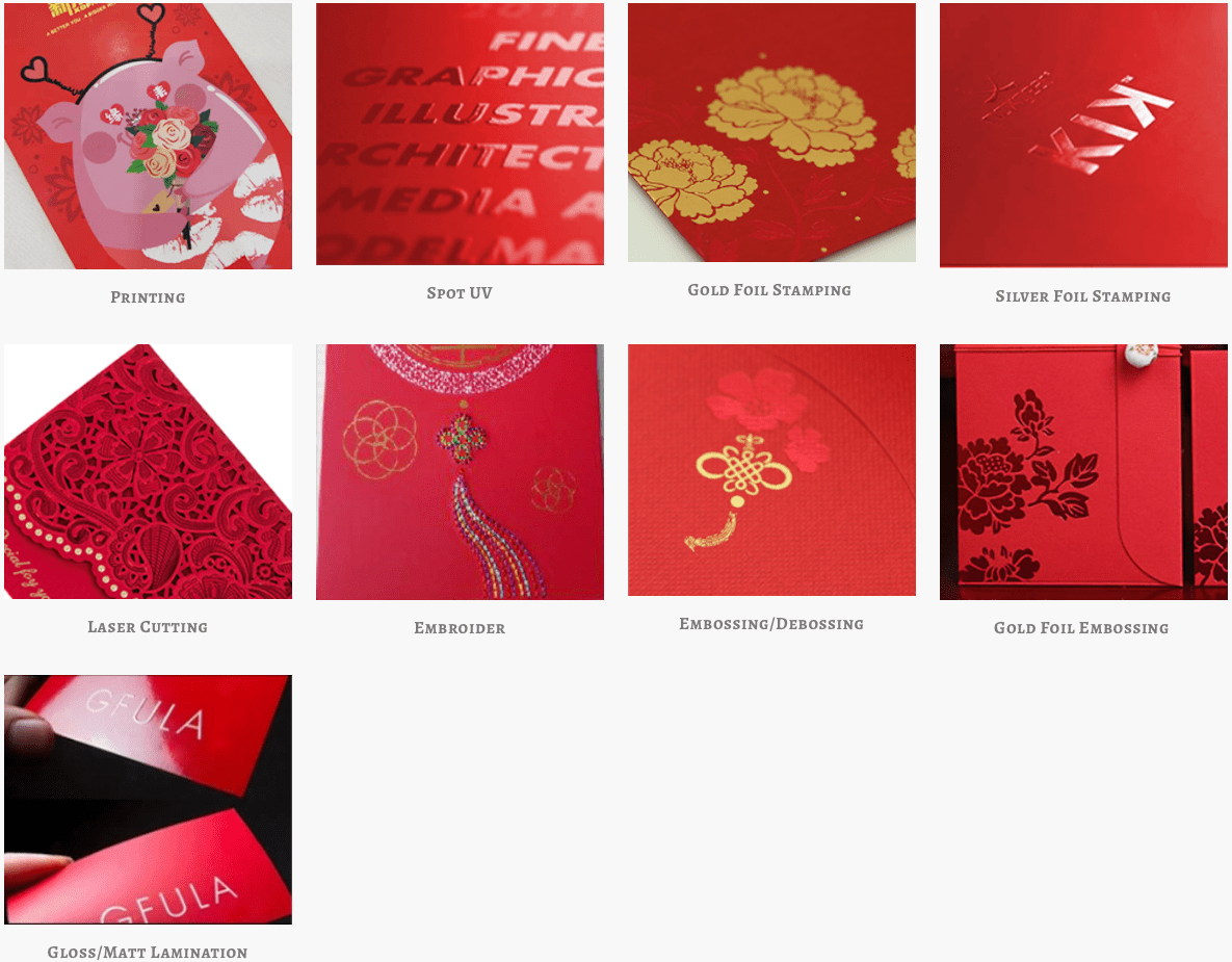 Red 1.com Customised Red Packet Supplier Singapore Switts