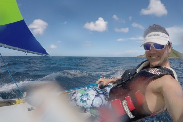"""I was lucky enough to do a bit of """"training"""" down in the Caribbean this winter."""