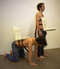 Human Chair: Because You Hate Your Friends