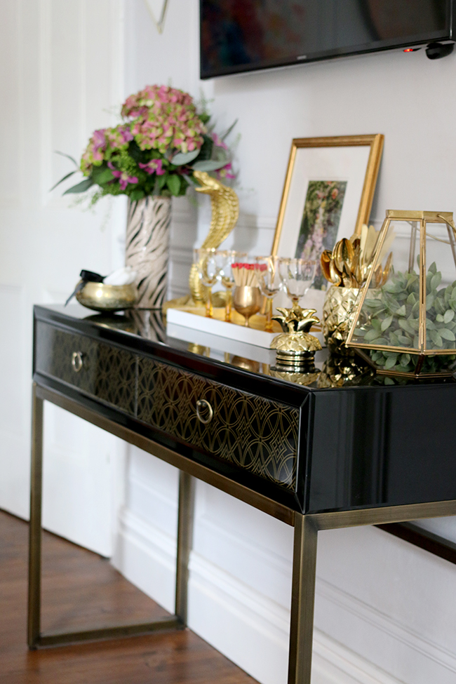 Vintage Sideboard Amazon Dining Room - All The Sources Plus A Giveaway! - Swoon Worthy