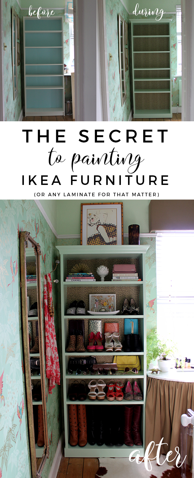 Ikea Expedit Ovet The Secret To Painting Ikea Furniture Swoon Worthy