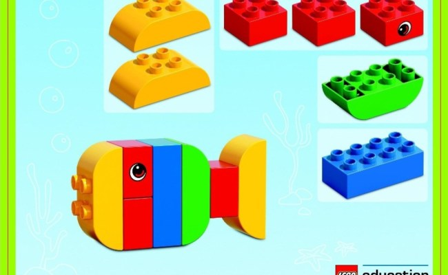 45019 1 Creative Lego Duplo Brick Set Swooshable
