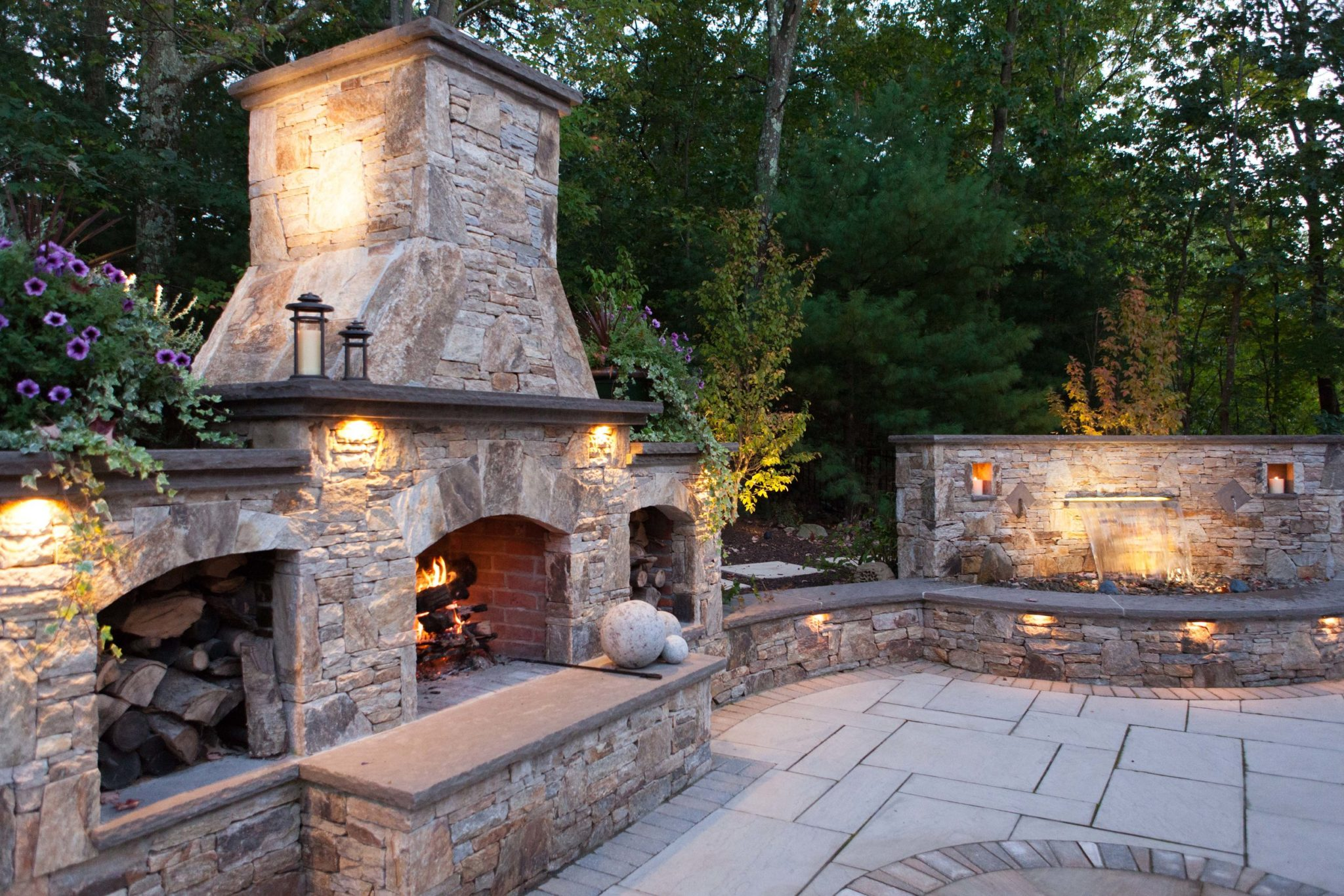 Outdoor Fireplace Materials Stonefire Tan Outdoor Fireplace Welcome To Sam White And Sons