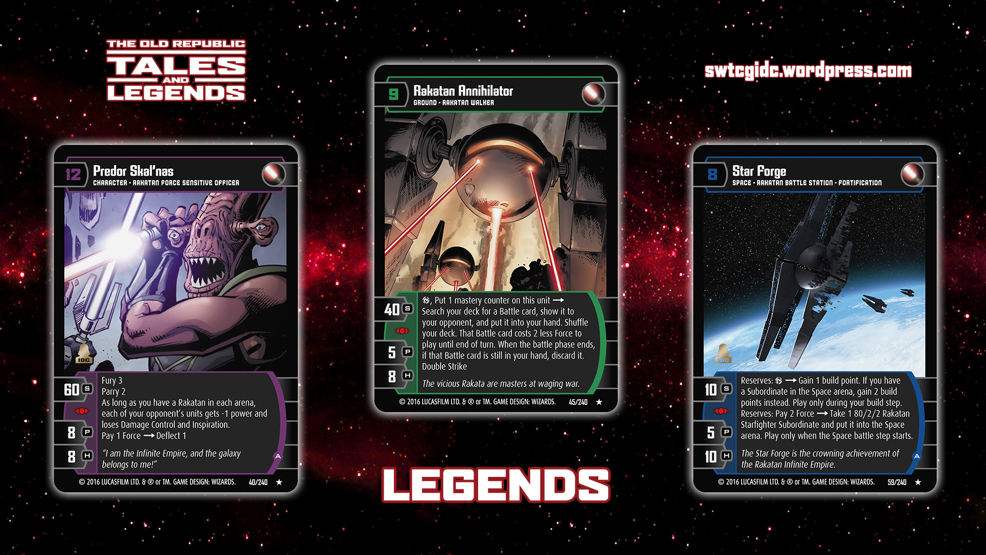 Playing In The Fall Wallpaper Tales And Legends Star Wars Trading Card Game