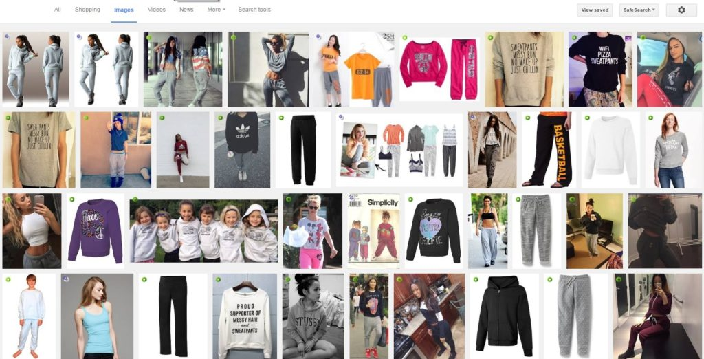 I tried to google my look, and for some reason, a bunch of skinny white teenage girls appear as results. Has Vogue beauty standards hijacked even my go-to style statement?