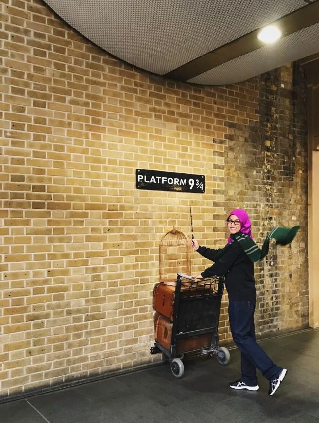 Heading off to Hogwarts.