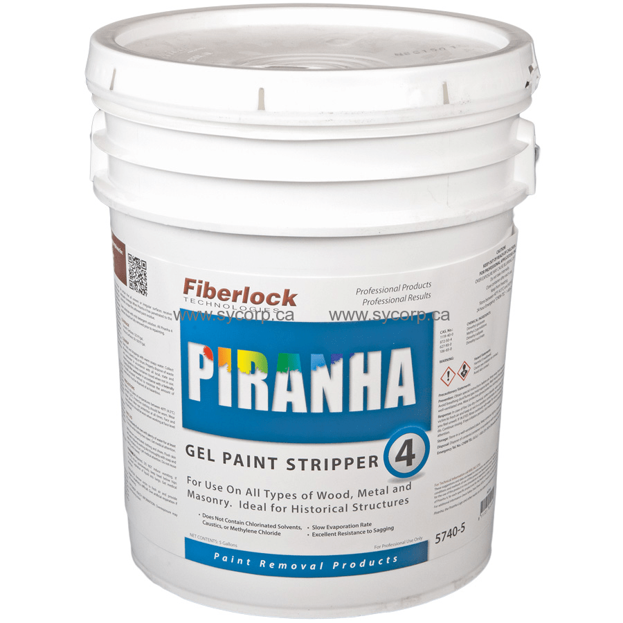 Paint Stripper Fiberlock Piranha 4 Solvent Gel Paint Stripper