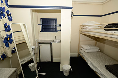 Deluxe 4 Bed Dorm Room