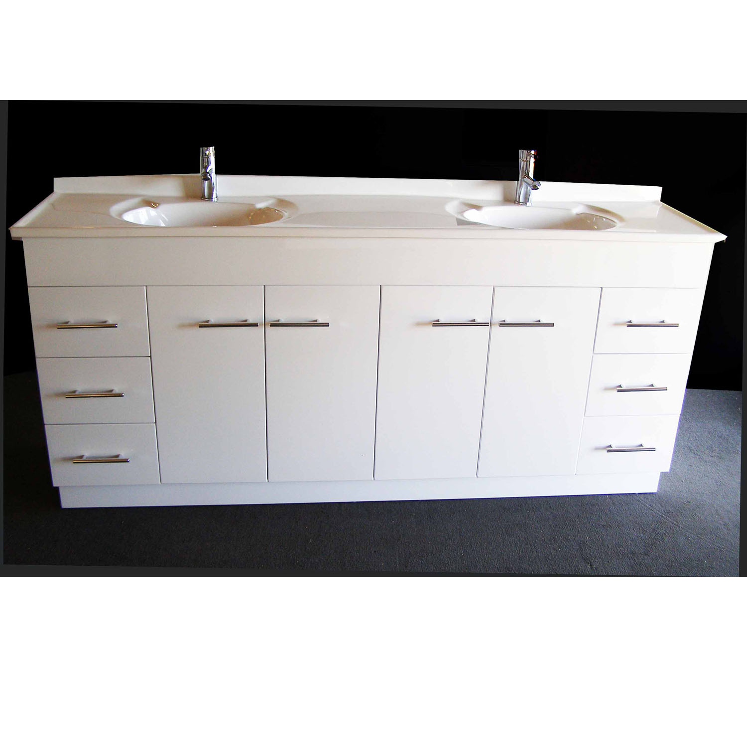 Bathroom Vanity Units Sydney Daedalus Wp 1800mm Bathroom Vanity Unit With Australian