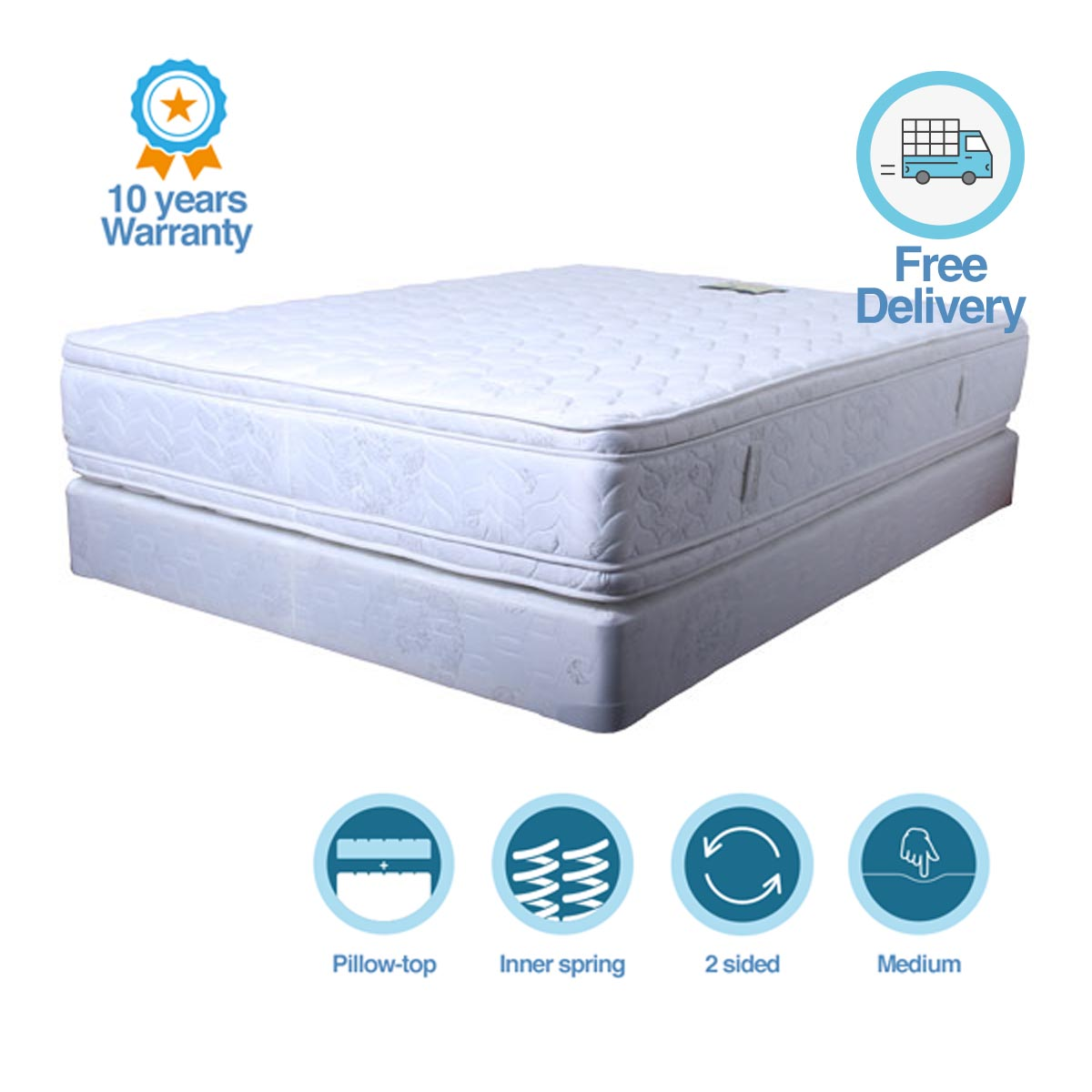 Bed Mattress Sydney Luxury Double Sided Pillow Top Style Mattress Sydney Bed
