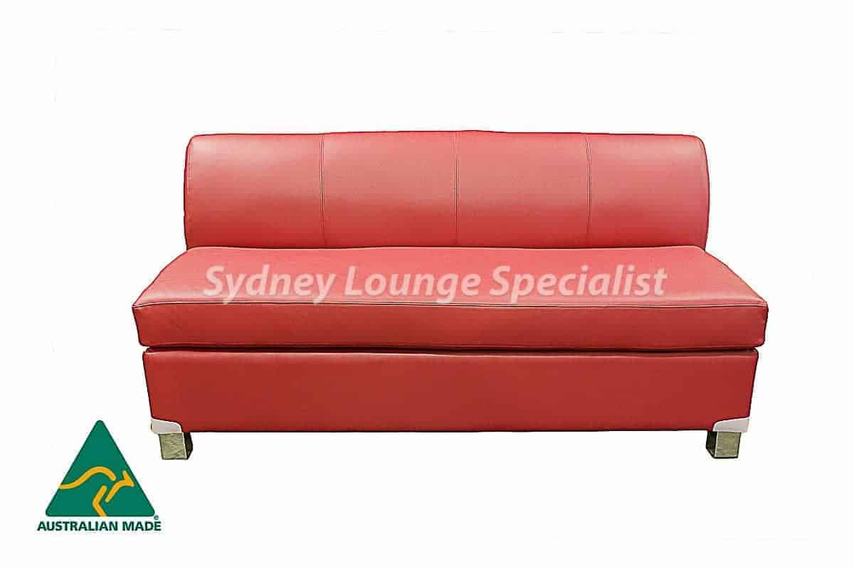 Pink Sofa Sydney Chicago 2 5 Seater Double Leather Sofa Bed Australian Made