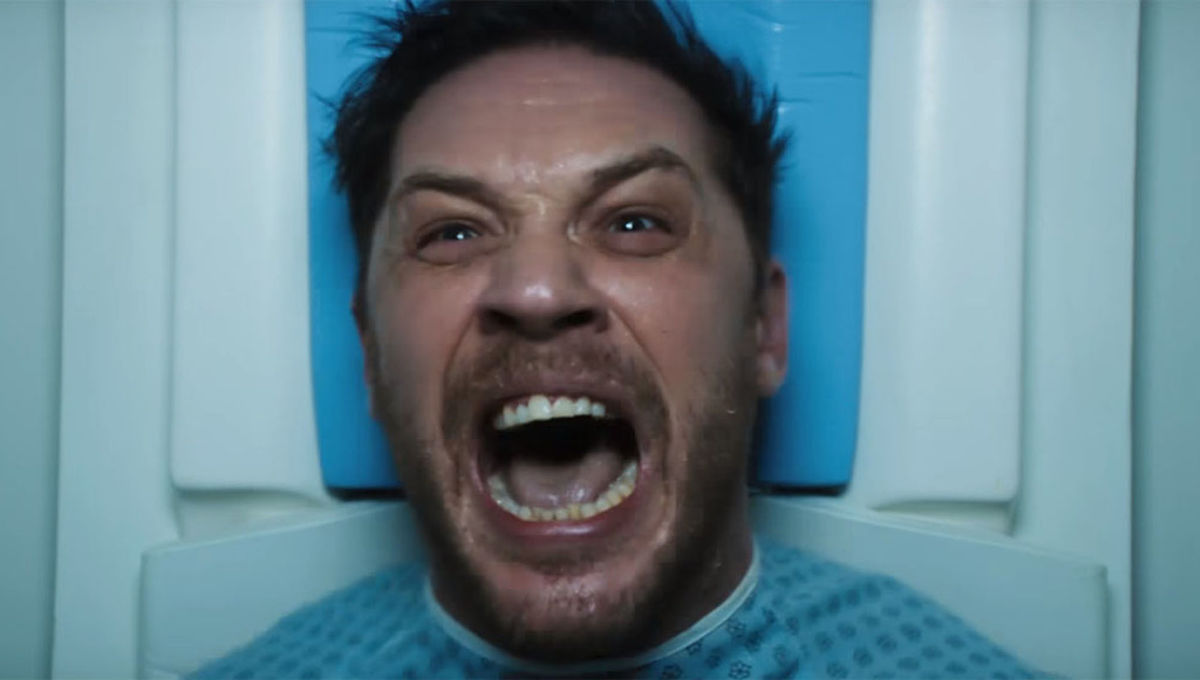 Tom Trailer Venom S New Trailer Gives Us A Glimpse Of Tom Hardy S Alien Symbiote