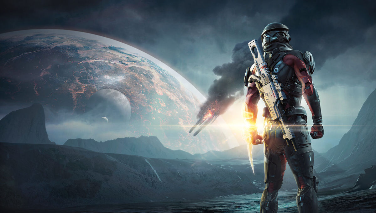 Mass Effectandromeda Soar Into This New Mass Effect Andromeda Gameplay Trailer Syfy