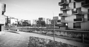 Paysage urbain Black and white Éco quartier Grande Synthe; Nord, CCBY Nadine Bauduin via Flickr