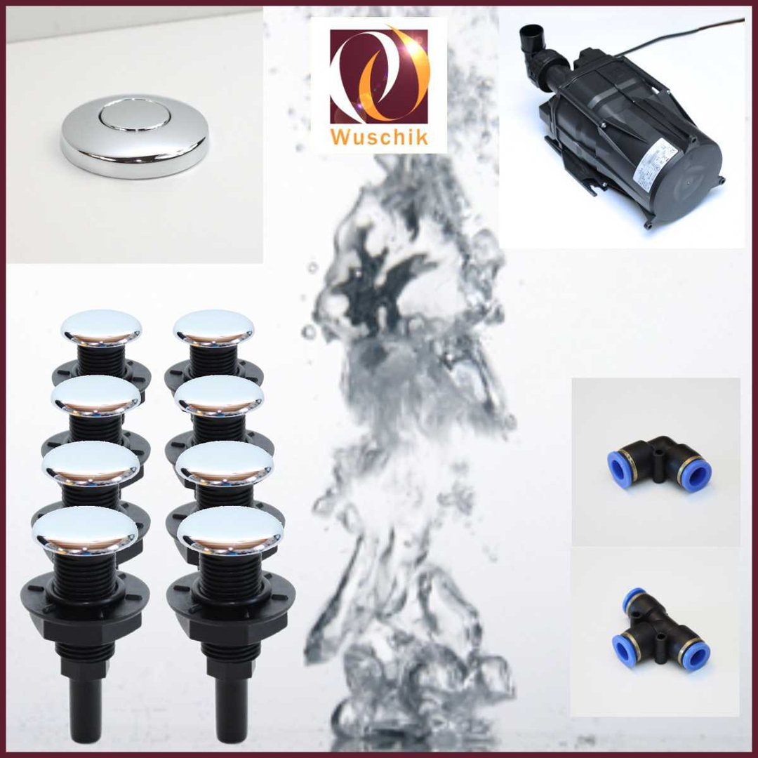 Jacuzzi Bauen 8 Injector Jacuzzi Air Spa Whirlpool Diy Kit