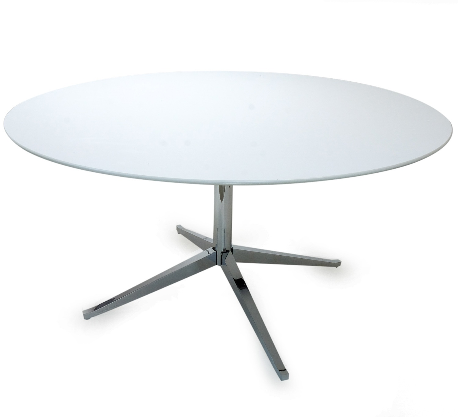 Knoll Table Florence Knoll Table Desk Round 137cm Sympledesign