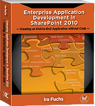 Enterprise Application Development in SharePoint 2010 – Creating an End-to-End Application without Code