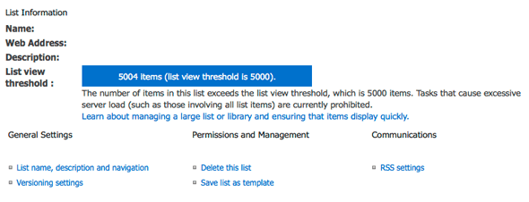 SharePoint-List-View-Threshold