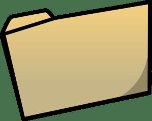 Manila folder