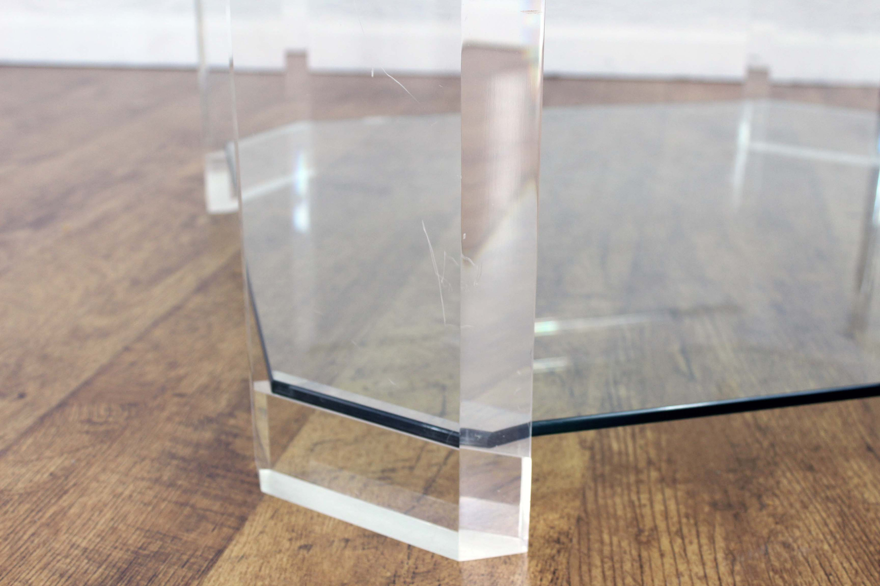Table Plexiglas Transparent Table Basse Plexiglas Transparent Table Chevet Plexiglas
