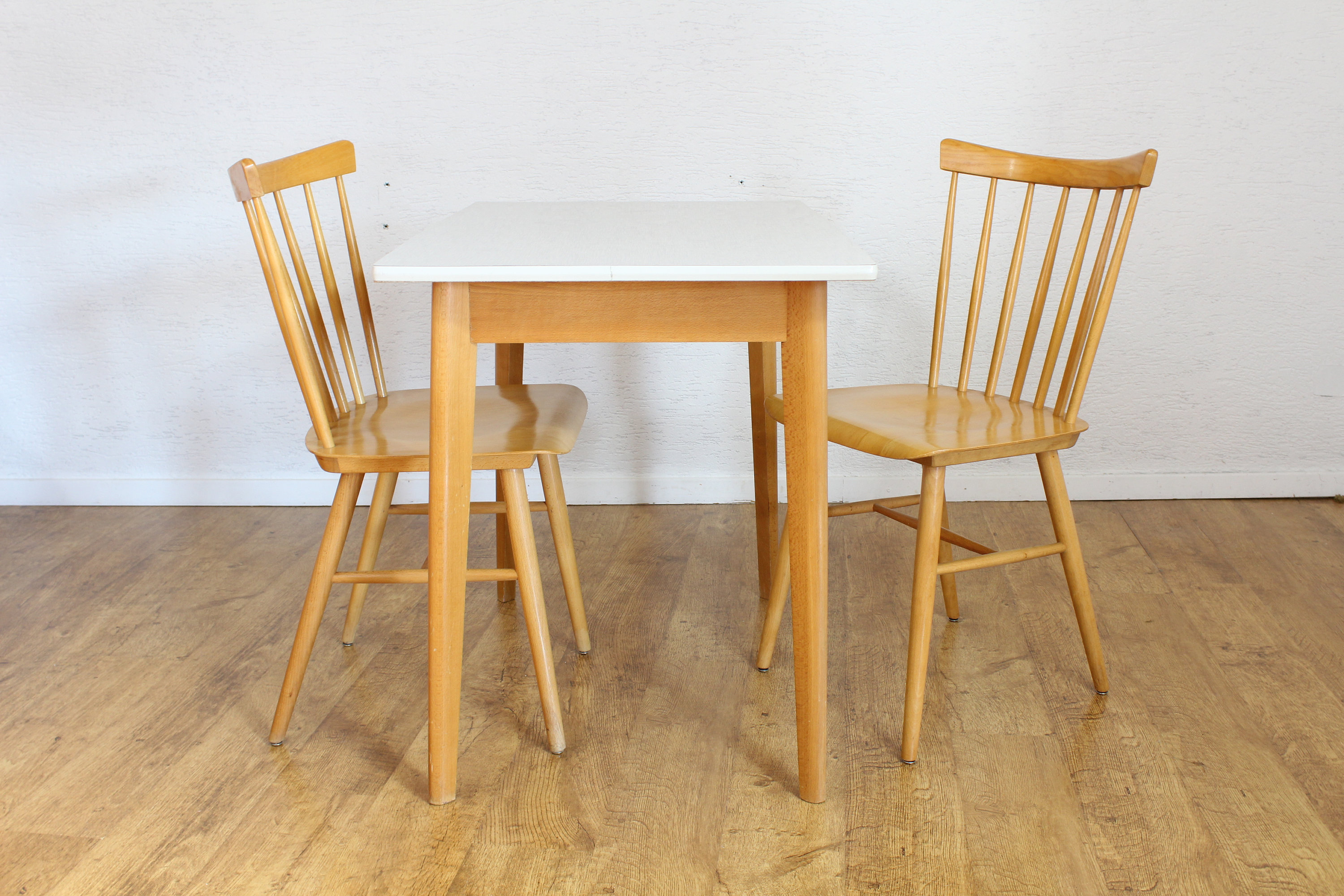 Table 2 Chaises Ensemble Table Et 2 Chaises De Style Scandinave