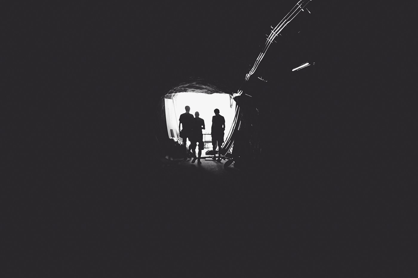 3men@tunnel(BW)byMartinWessely (1)