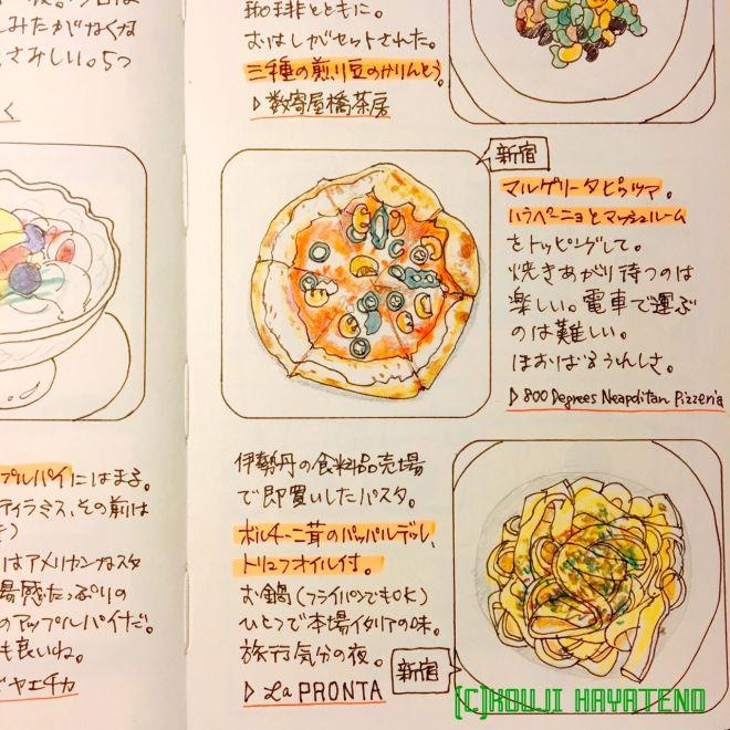 オイシイ記憶をおすそわけ 2016/06/22 パスタ