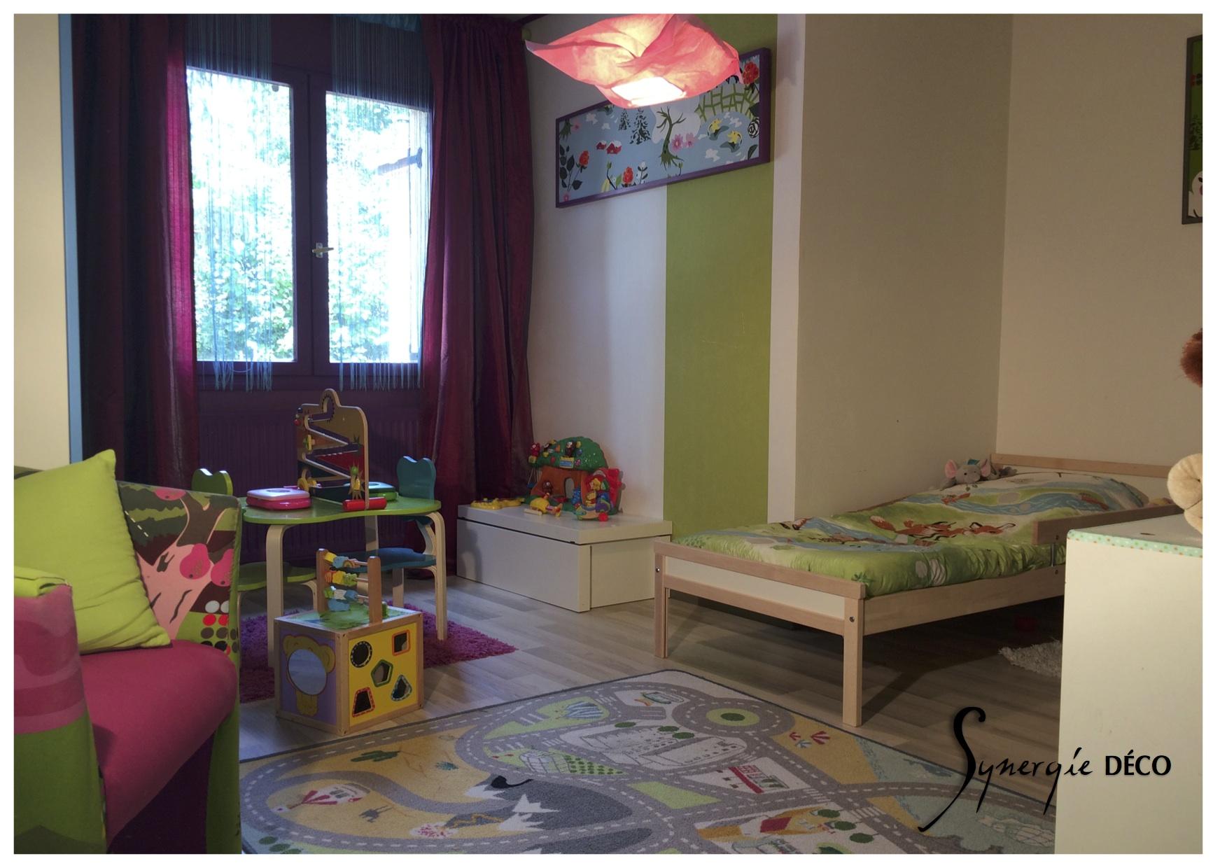 Chambre Enfant Mixte | Idee Chambre Enfant Bureau Blancration Garcon ...