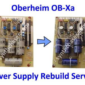 Oberheim OB-Xa Power Supply Rebuild Service