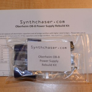 Oberheim OB-8 Power Supply Capacitor & Rebuild Kit