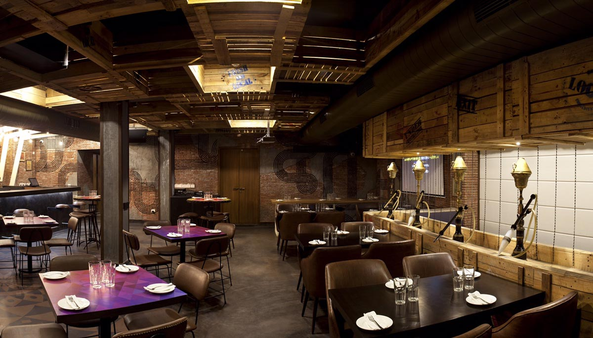Gastro Design Bottoms Up Gastro Pub Synthesis Architecture Interior Design