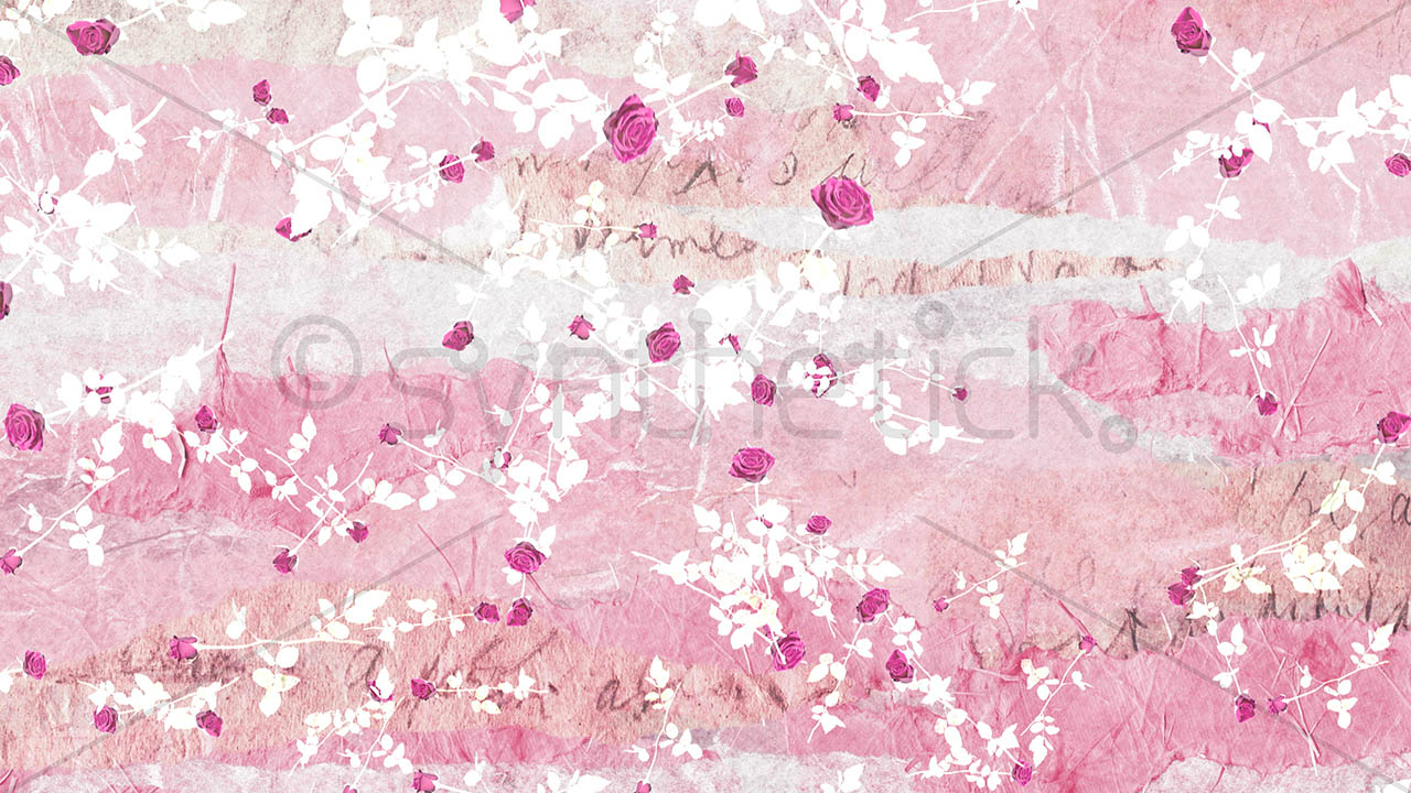Falling Stars Gif Wallpaper Pink Scrapbook Falling Roses Stock Video Footage