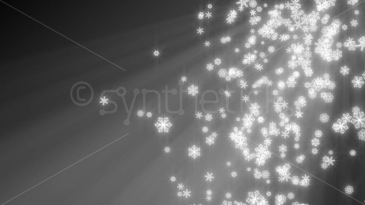 Black Silver Glitter Wallpaper Snowflakes Grey Background Stock Video Footage Synthetick