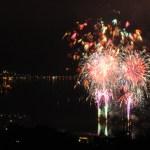 諏訪湖花火