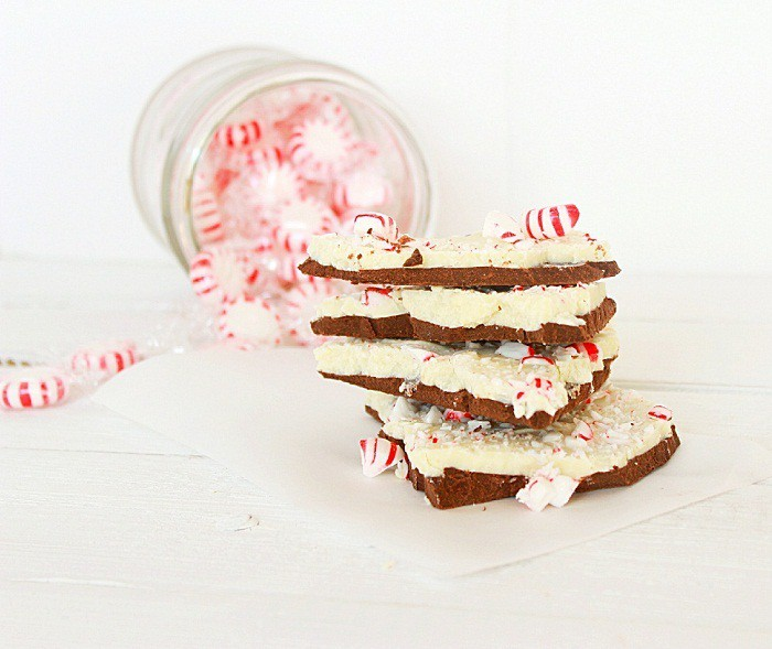 Saved by the Stripes (Recipe: Peppermint Bark)