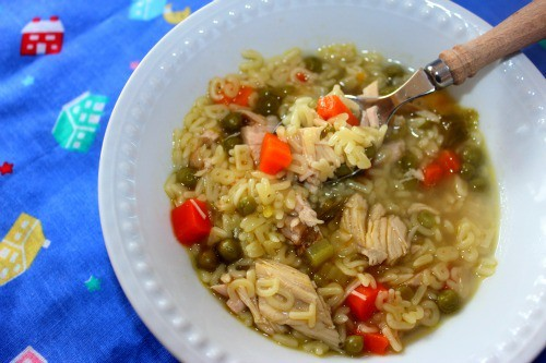 Letter Thoup (Recipe: Turkey Alphabet Soup)