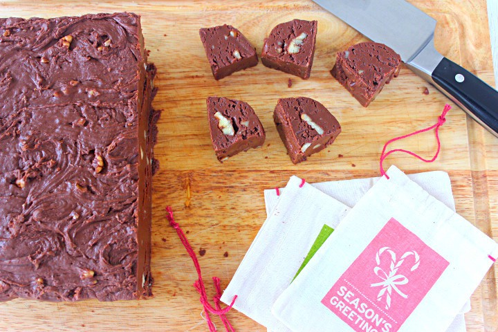 Fudge with Pecans ~ Syrup and Biscuits
