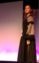 Denne flotte kjolen er laget av Svetlana Zollinger fra Ukraina - ufattelige detaljer laget i korsting. Virkelig inspirerende