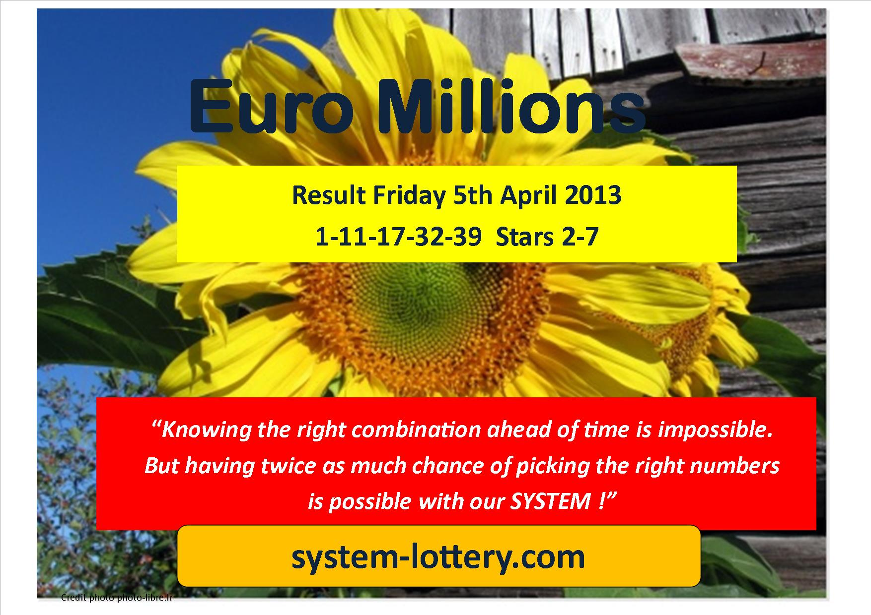 Lotto Euromillions Result System To Win Powerball And Mega Millions