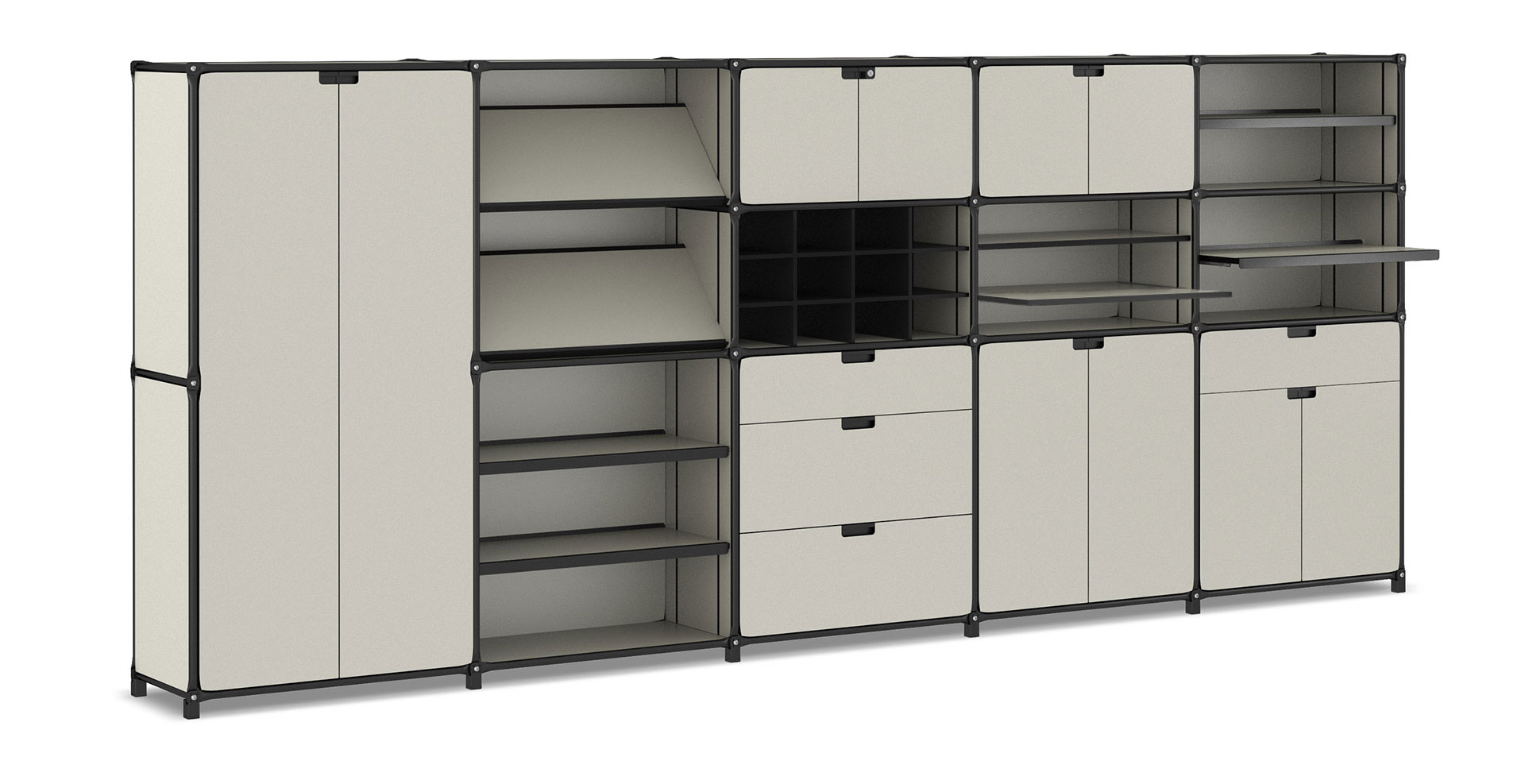 Schienen Rollen System System 180 Our Furniture Assembly System Individual Functional