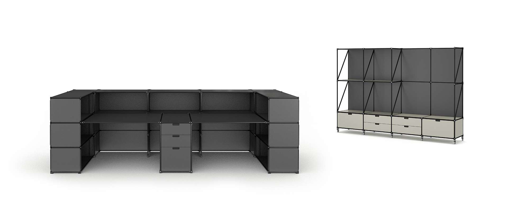 Schubladenschrank Hoch System 180 Modular Design Made In Berlin